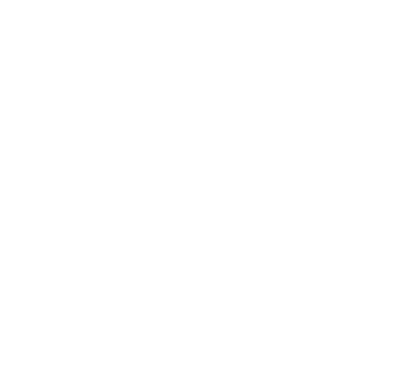outline of a leaf in white on a clear background